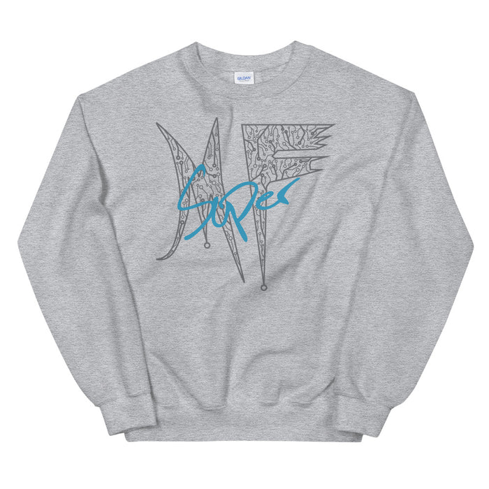 MF Gray Circuit Women's Sweatshirt