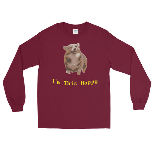 This Happy Men's Long Sleeve Shirt