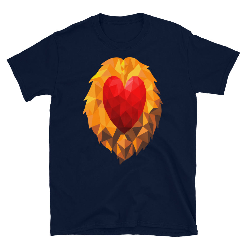Heart of a Lion Men's Premium T-Shirt