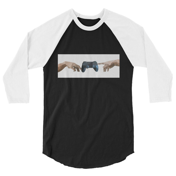 Creation of Gaming Men's 3/4 Sleeve Shirt