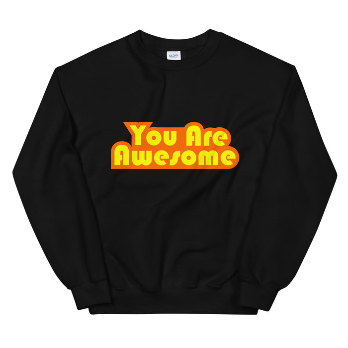 You Are Awesome Orange Edition Men's Sweatshirt
