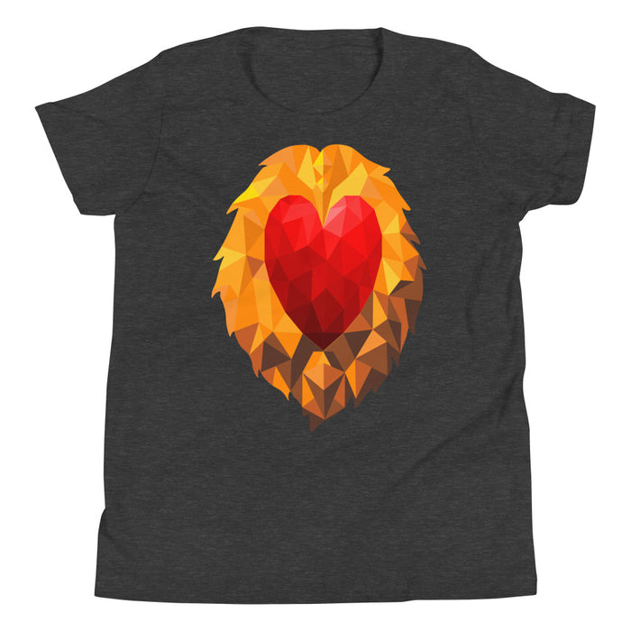 Heart of a Lion Youth's Premium T-Shirt
