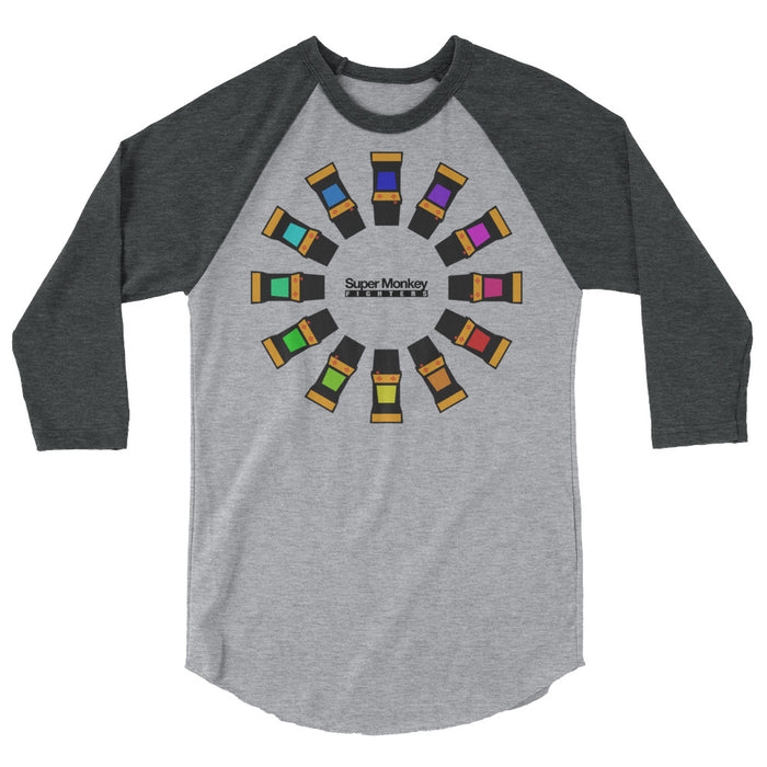 Arcade Wheel Men's 3/4 Sleeve Shirt