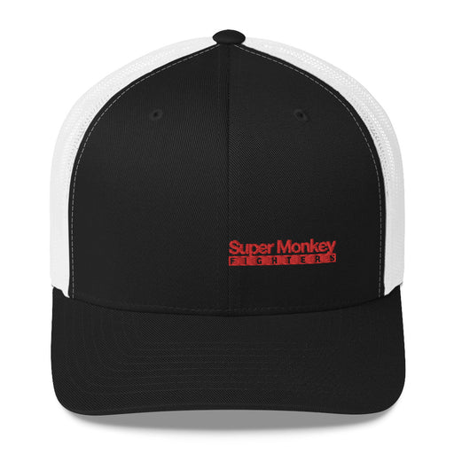 Red Monkey Trucker Hat