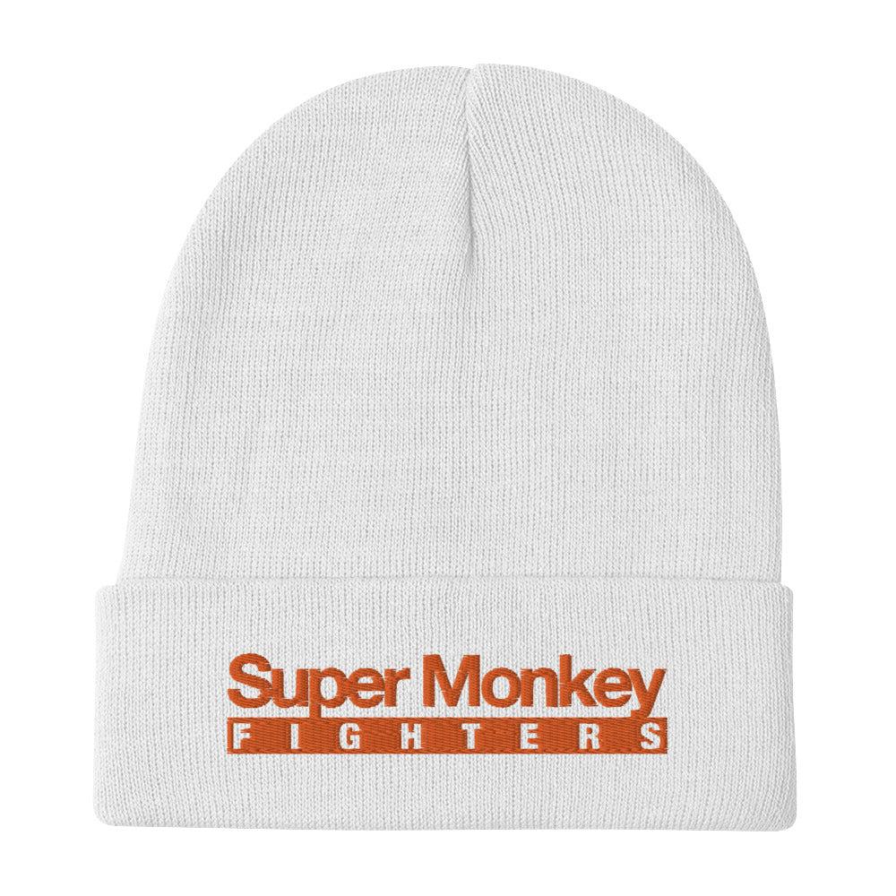 Orange Monkey Beanie