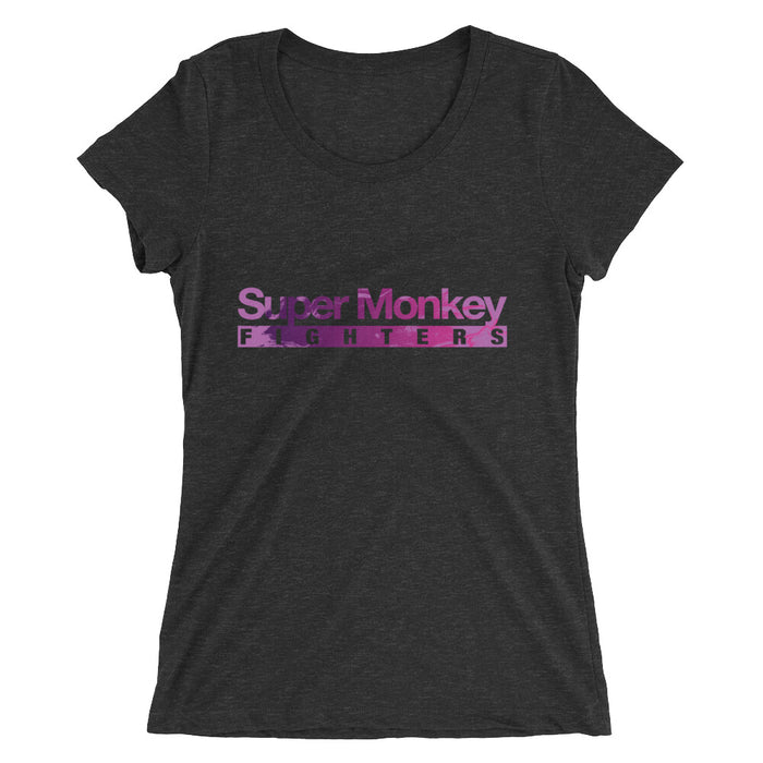 Purple Flaming Monkey Women's Tri-Blend T-Shirt