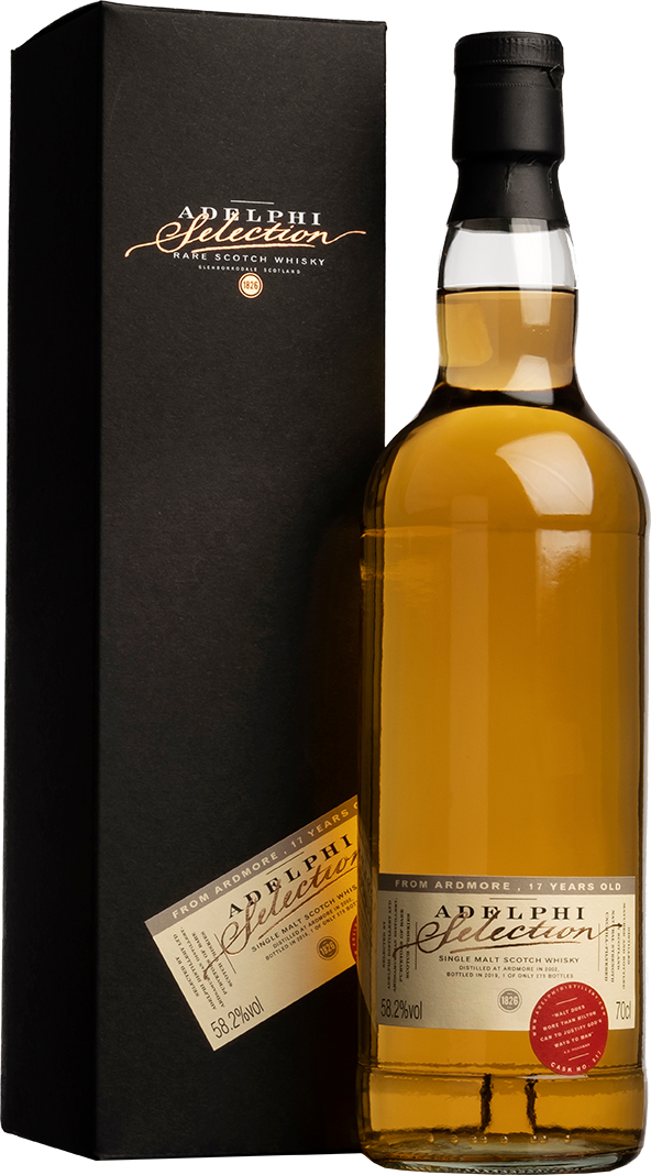 Adelphi 2002 Ardmore Single Cask #317 Bourbon Cask 17 Year Old Single Malt Scotch Whisky