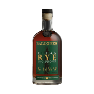 Balcones Texas 100 proof Rye