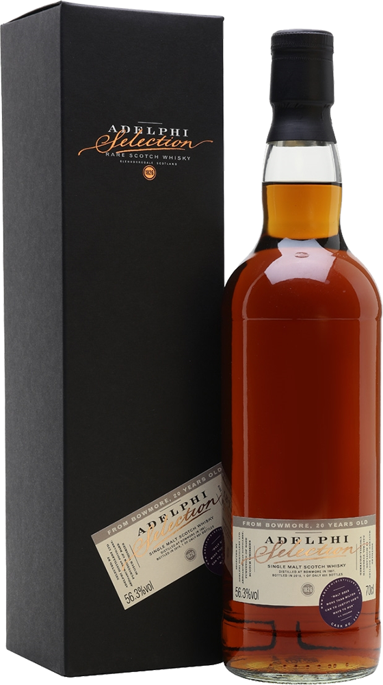 Adelphi 1997 Bowmore Single Cask #2411 Sherry Cask 19 Year Old Single Malt Scotch Whisky