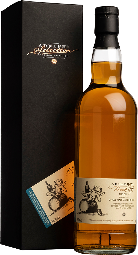 Adelphi 2007 Breath Of The Isles Sherry Cask 11 Year Old Single Malt Scotch Whisky