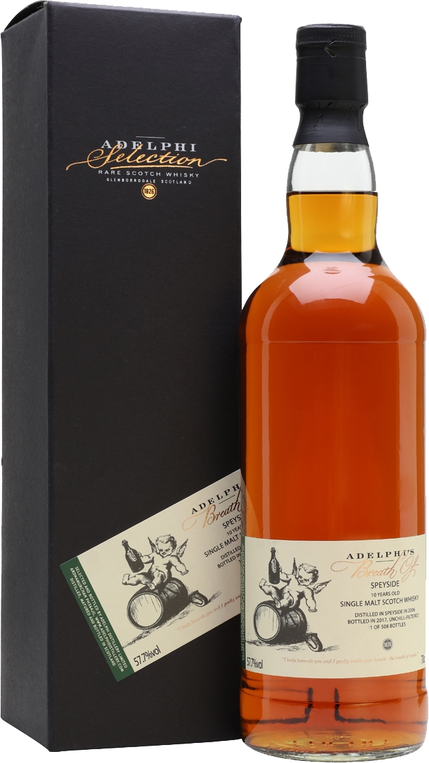 Adelphi 2006 Breath Of Speyside Sherry Cask 11 Year Old Single Malt Scotch Whisky