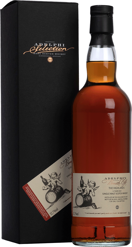 Adelphi 2007 Breath Of The Highlands Sherry Cask Single Malt Scotch Whisky