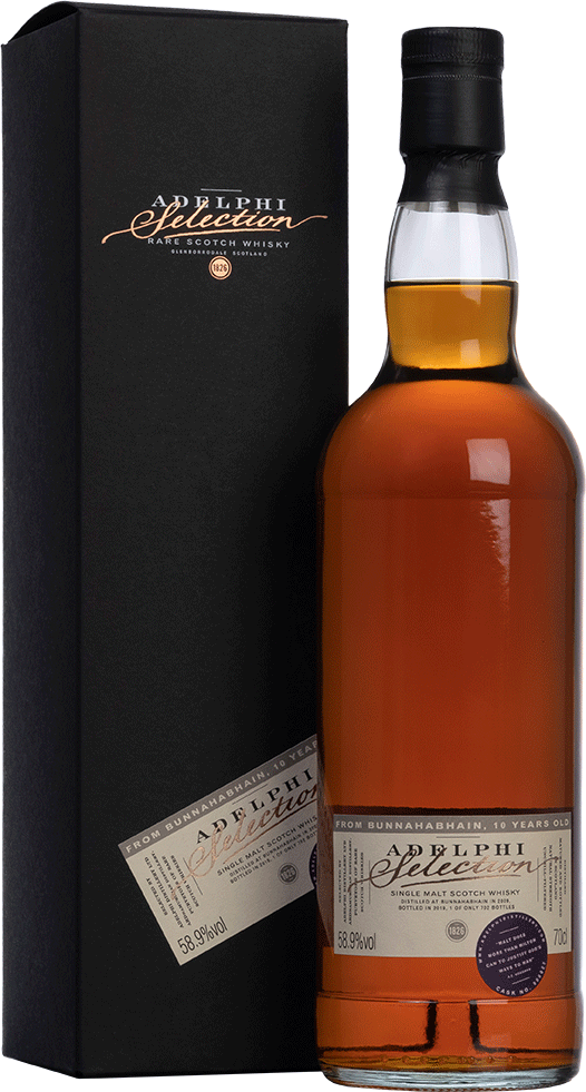 Adelphi 2009 Bunnahabhain Single Cask #900022 Sherry Cask 10 Year Old Single Malt Scotch Whisky