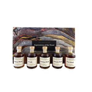 Craft Works Distillery Expressions of the Wood (5 x 50ml) - The Old Barrelhouse