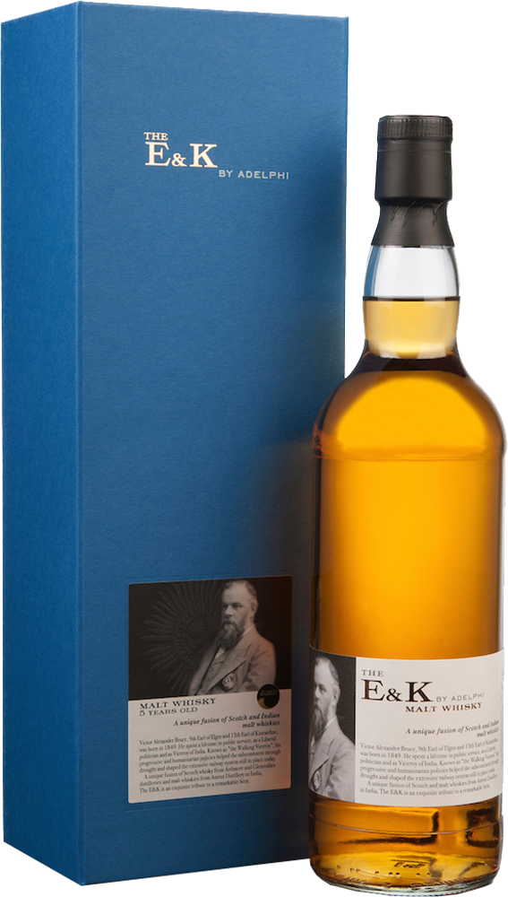 Adelphi The E&K 5 Year Old Blended Malt Whisky