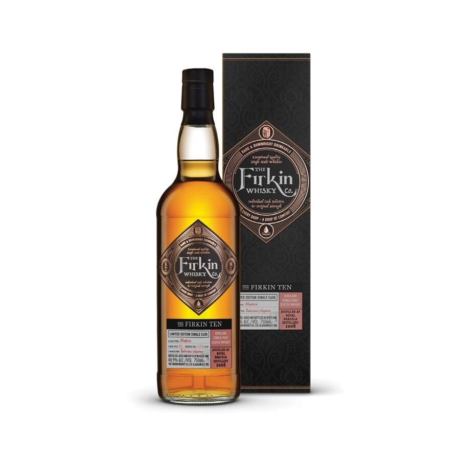 Firkin Whisky Co. Firkin Ten 2008 Royal Brackla 10