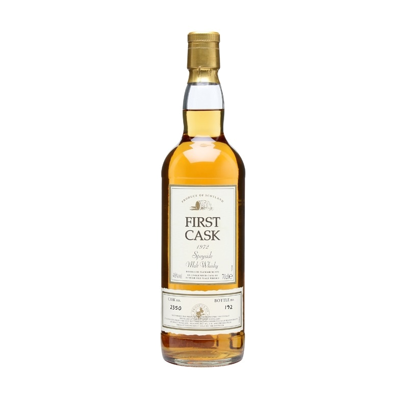 First Cask 1972 Macduff 31 - The Dusty Bottle
