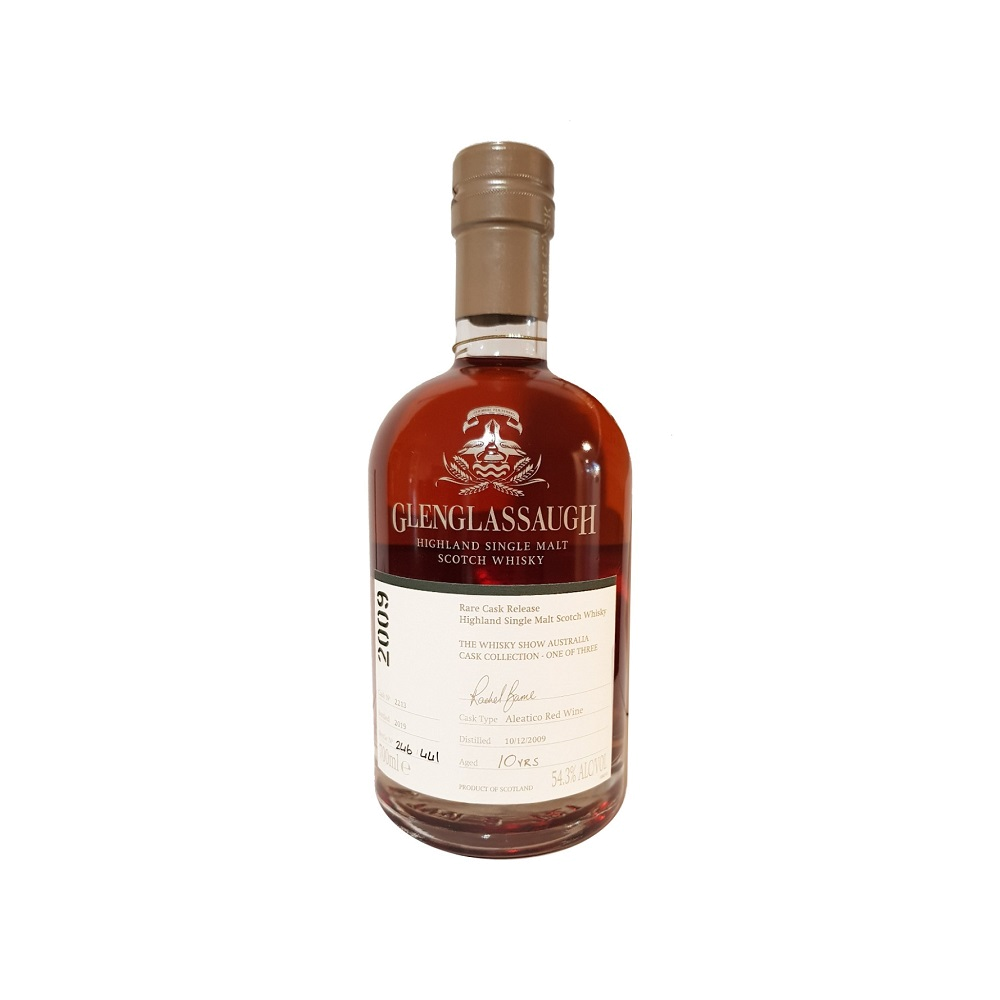 Glenglassaugh 10yo 2009 Aleatico Wine Cask Whisky Show Exclusive