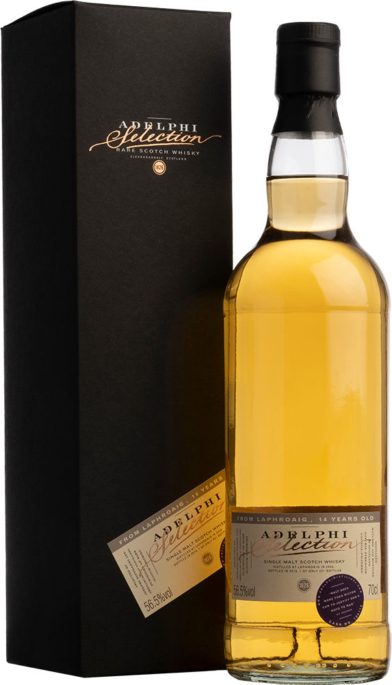 Adelphi 2004 Laphroaig Single Cask #700170 Bourbon Cask 14 Year Old Single Malt Scotch Whisky