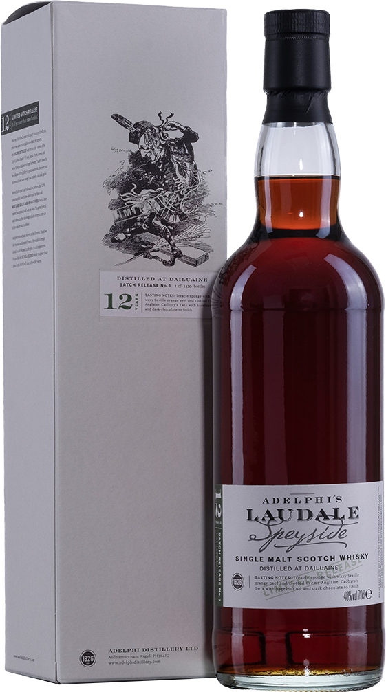 Adelphi Laudale (Dailuaine) Batch 3 Sherry Cask 12 Year Old Single Malt Scotch Whisky