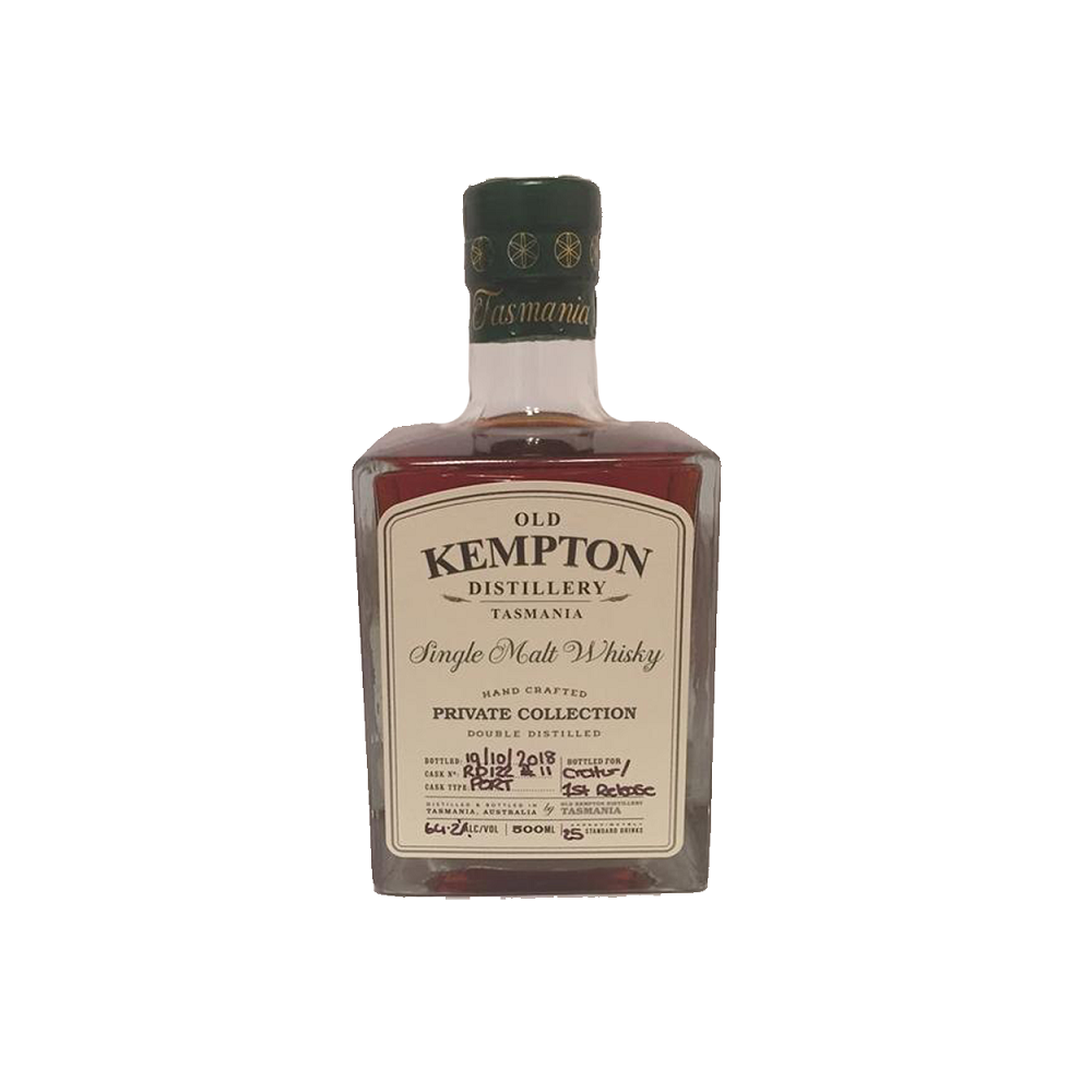 Old Kempton Single Cask #RD122 Cask Strength Port Cask For MyWhiskyJourneys (500ml) - MyWhiskyJourneys