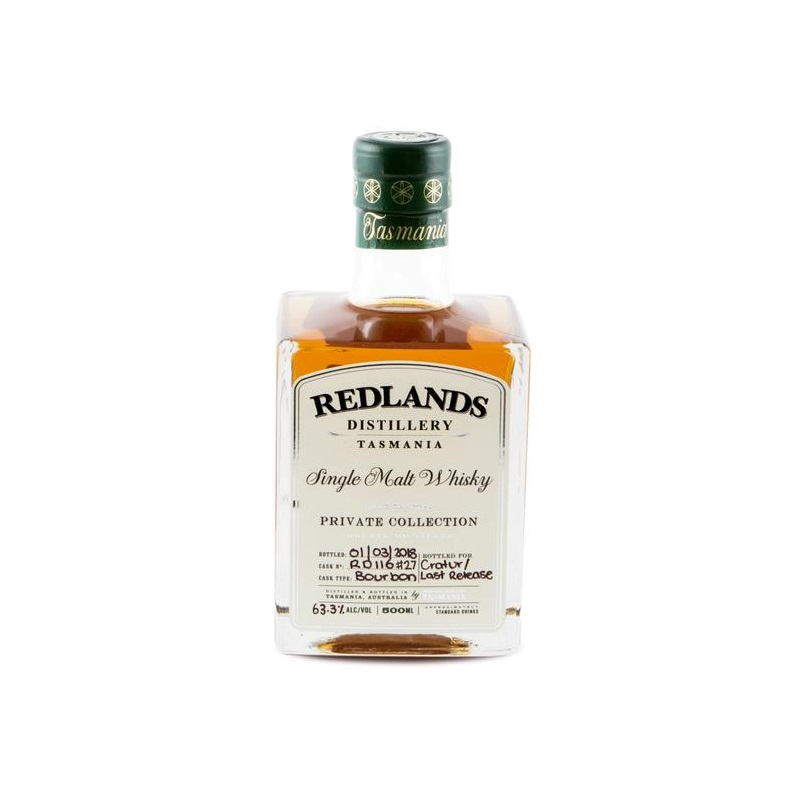 Redlands Single Cask #RD116 Bourbon Cask For MyWhiskyJourneys - MyWhiskyJourneys