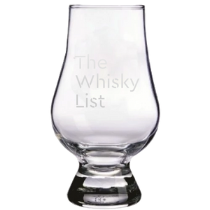 The Whisky List Glencairn Whisky Glass