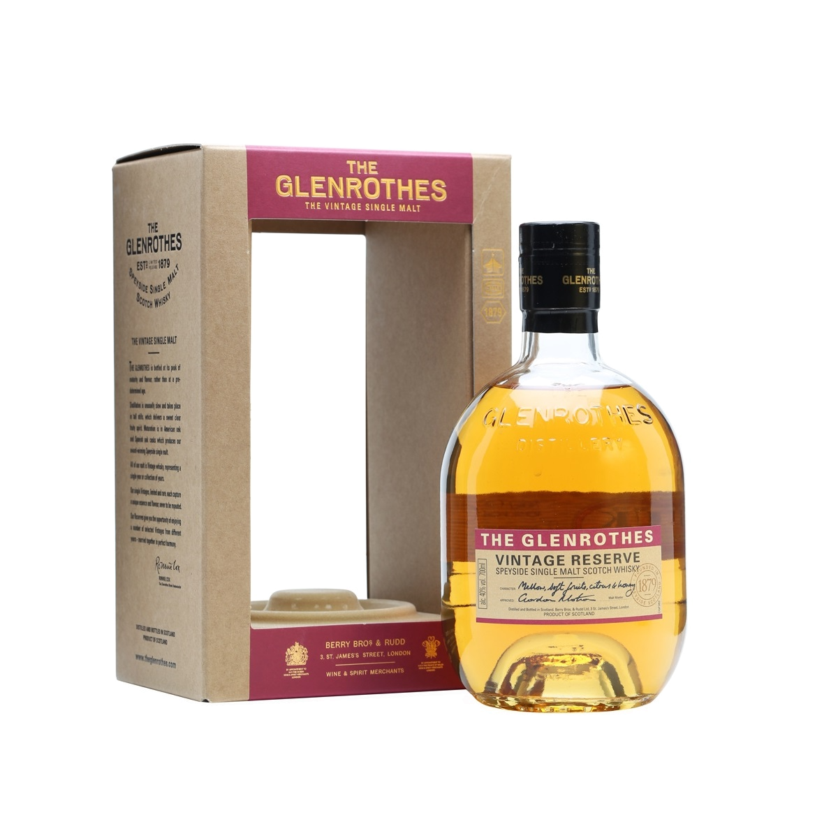 The Glenrothes Elders Reserve 18 - The Old Barrelhouse
