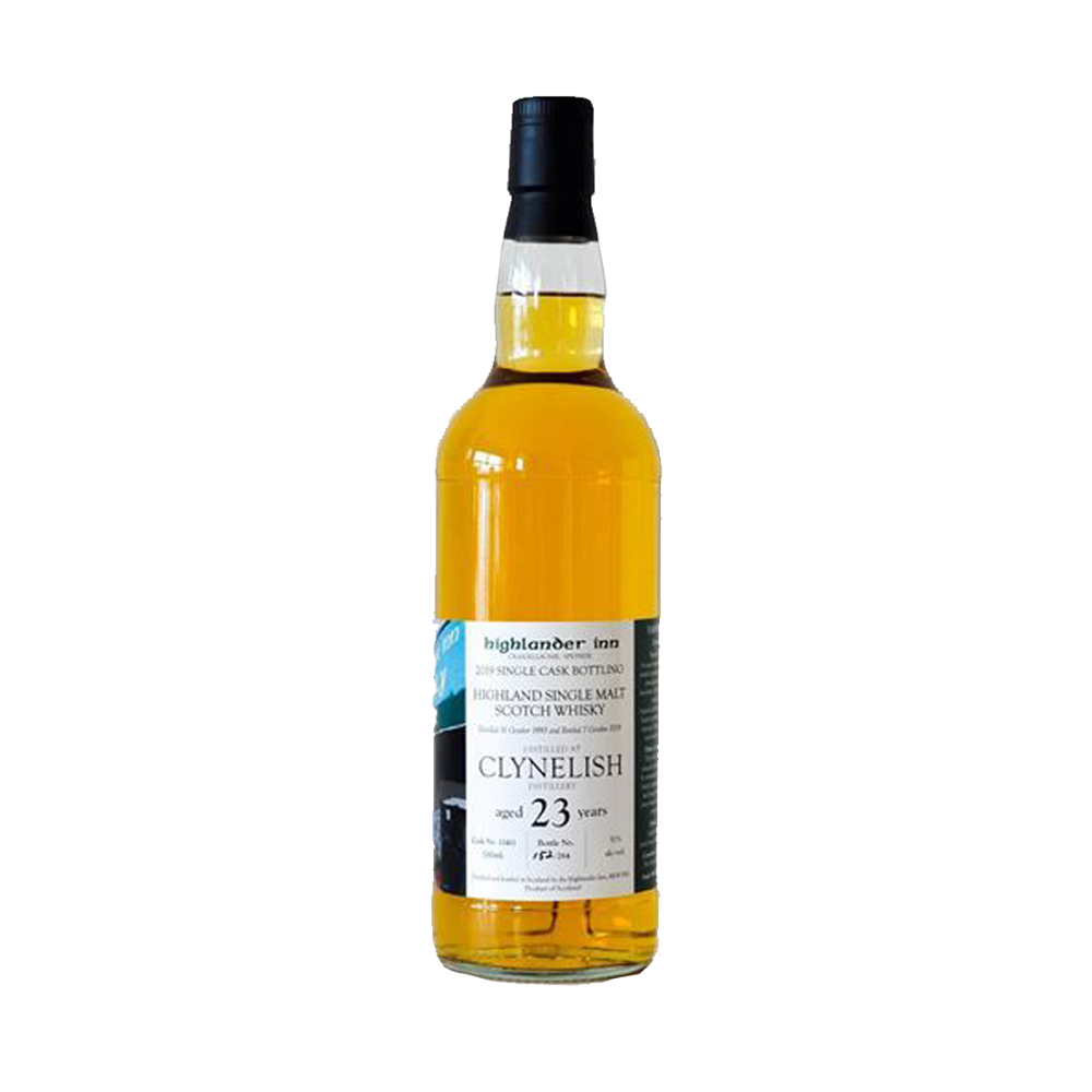 The Highlander Inn 1995 Clynelish Single Cask #13411 23 - Harvest Liquor