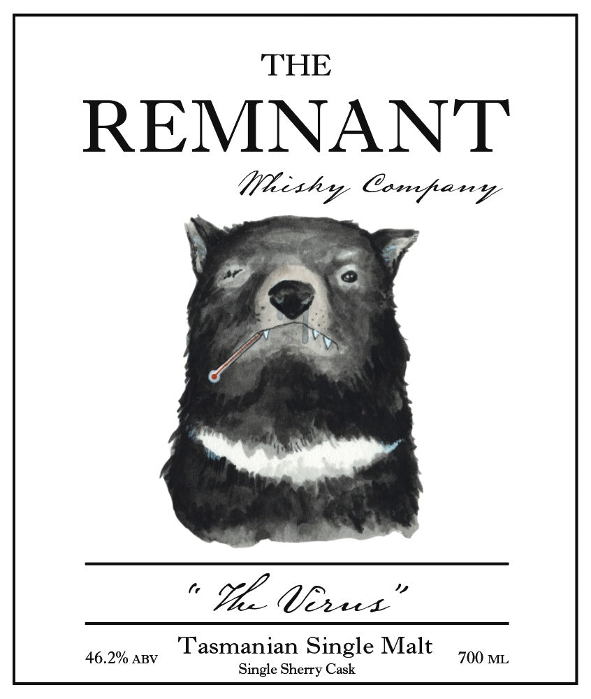 PRE-ORDER: The Remnant Whisky Co. The Virus For The Whisky List & Whisky Lovers Australia