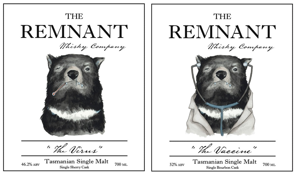 PRE-ORDER: The Remnant Whisky Co. The Virus & The Vaccine For The Whisky List & Whisky Lovers Australia