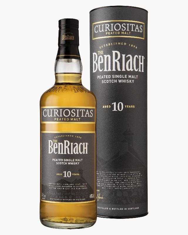 BenRiach 10 Curiositas Peated Malt