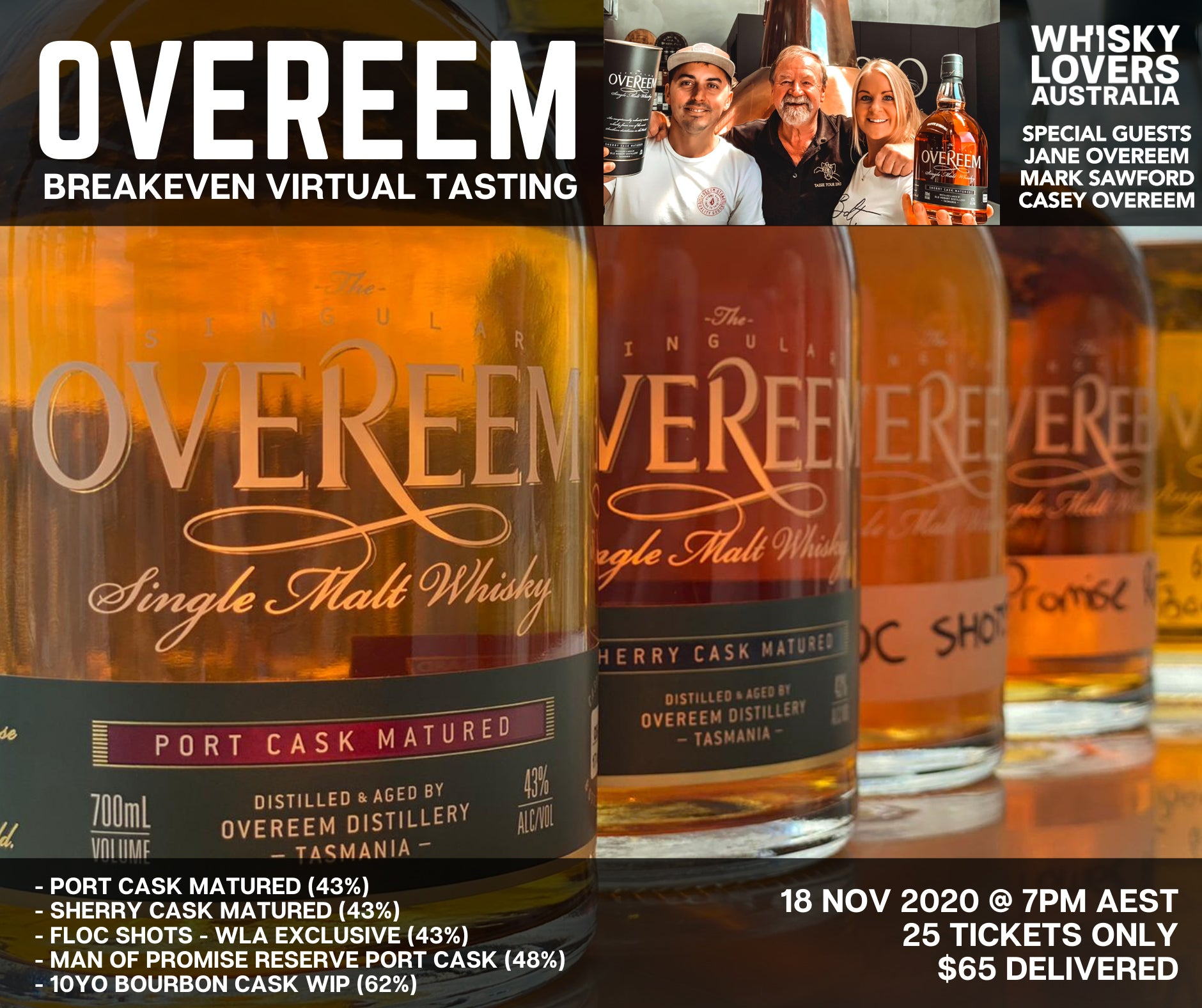 WLA Overeem Breakeven Virtual Tasting
