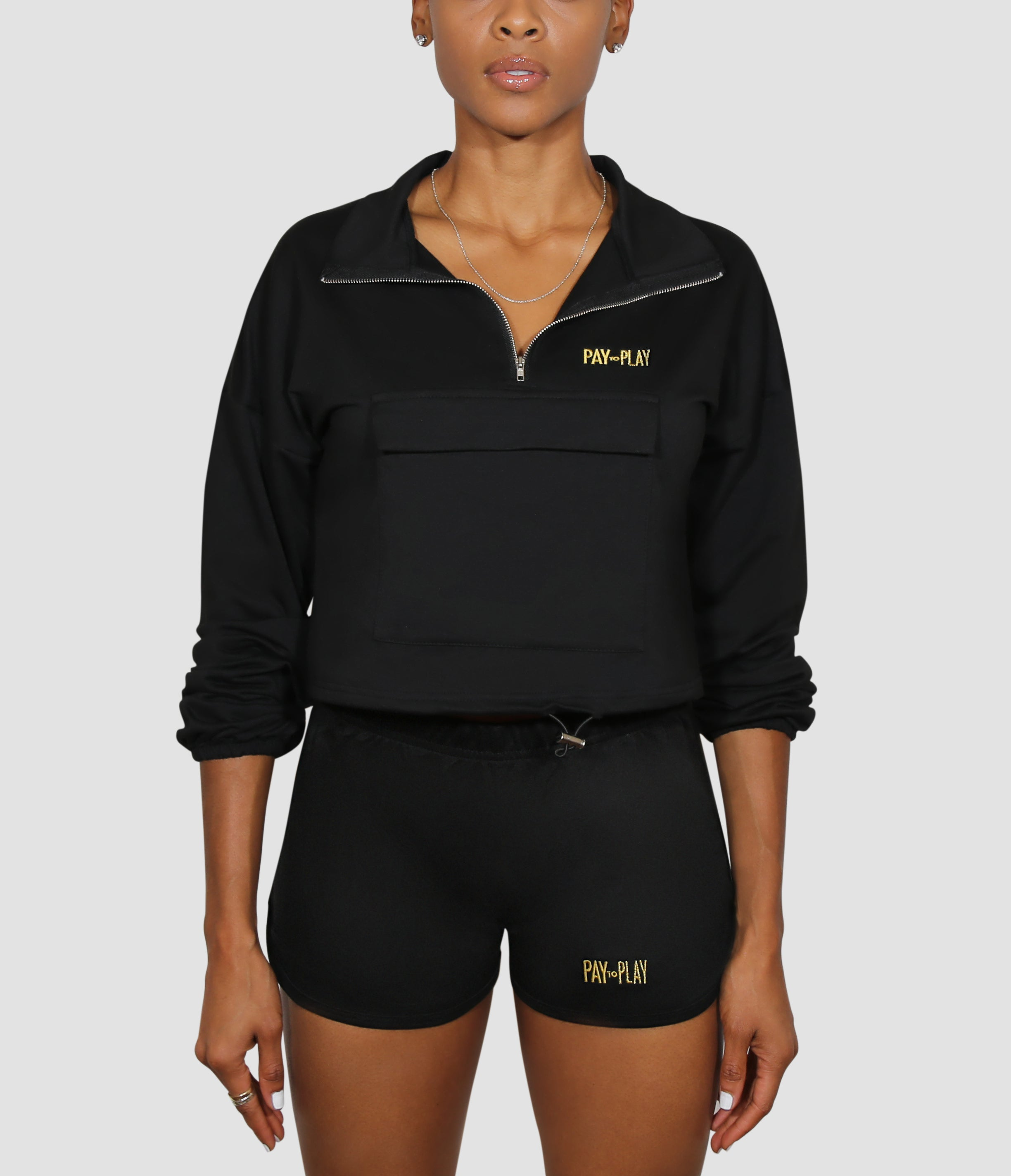 Pay to Play -  Half-Zip Pullover