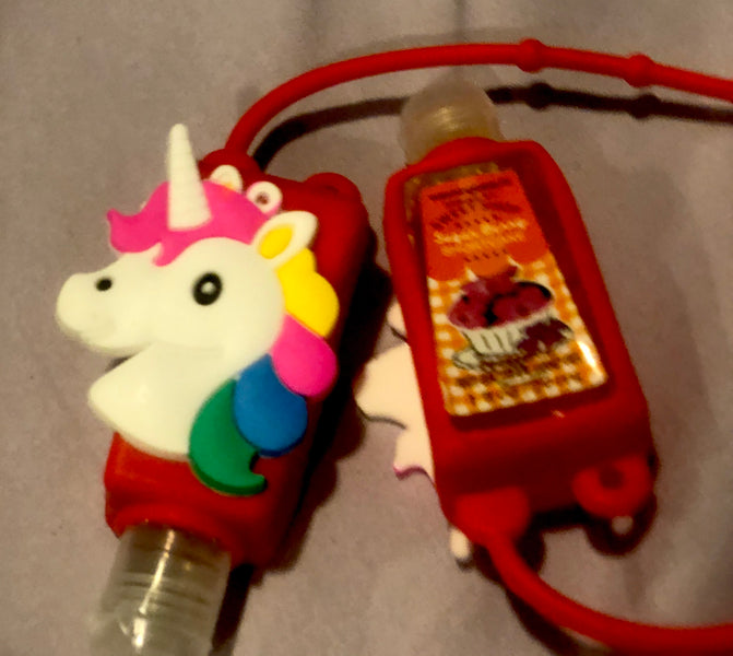 Unicorn Hand Sanitizer Holders