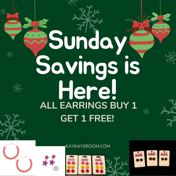 Sunday Savings... Day 3 Holiday Sale