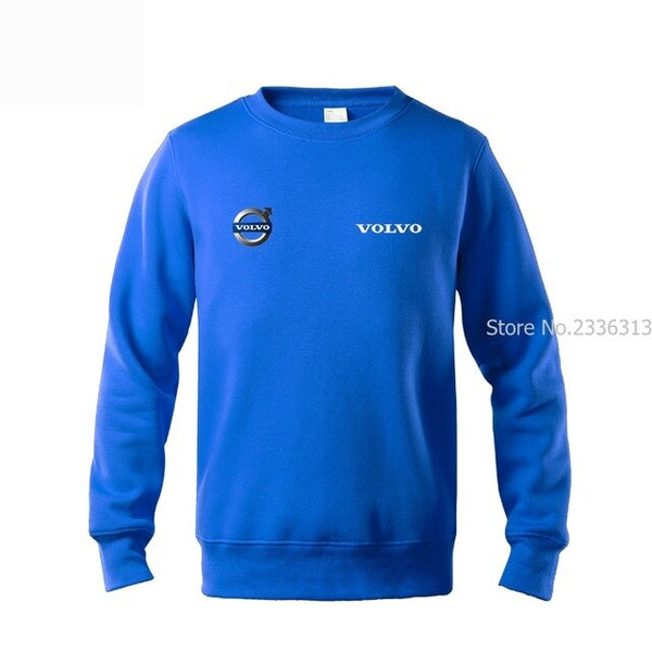 Men's Workwear jacket pullover Volvo Sleeve Sweatshirt 4s Shop Customized coats
