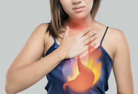 Do you have heartburn while on the Keto Diet.  Causes, Tips & Tricks