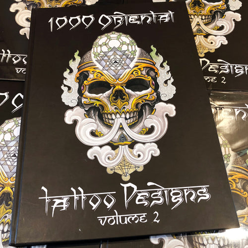 1000 Oriental Tattoo Designs: Vol. 2