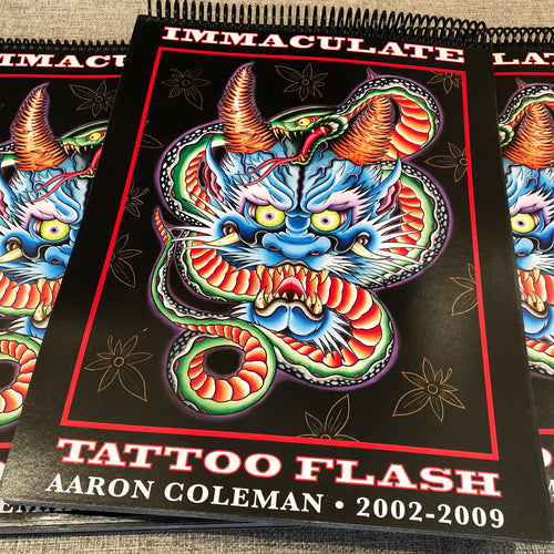 Aaron Coleman - Immaculate Tattoo Flash 2002-2009
