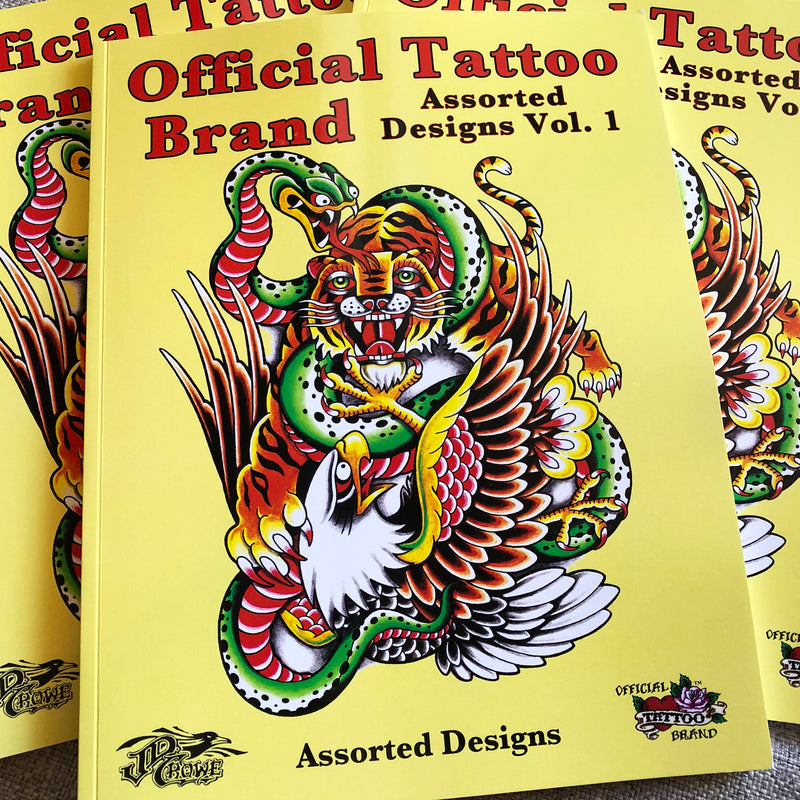 Official Tattoo Brand - Assorted Designs Vol. 1