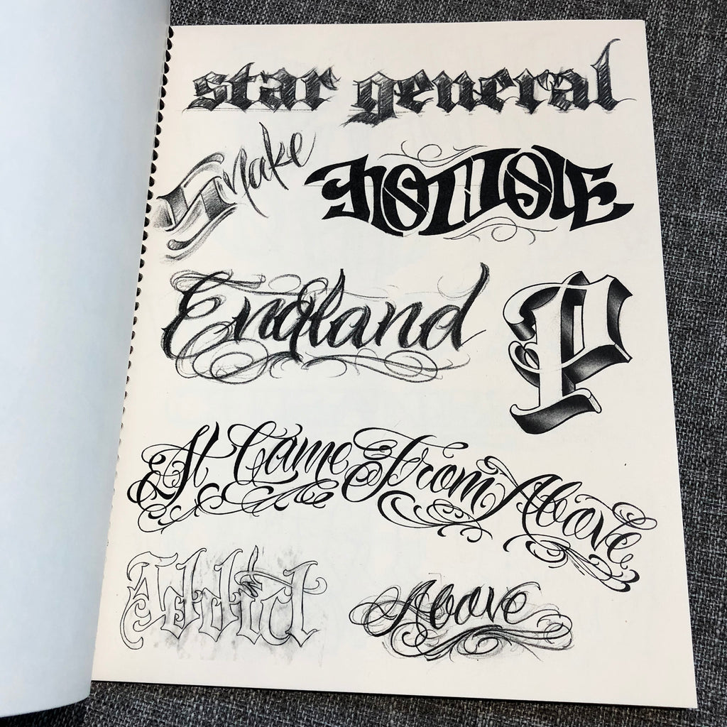 Lettering Guide Vol. 3