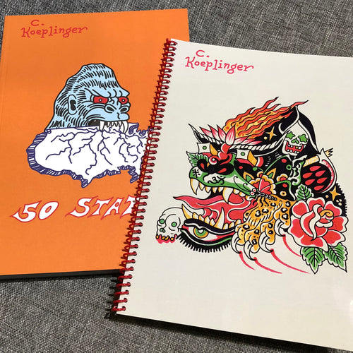 Chad Koeplinger - 50 States + Sketchbook