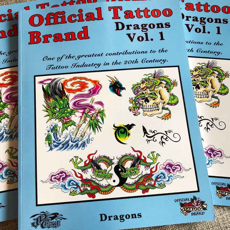 Official Tattoo Brand - Dragons Vol. 1