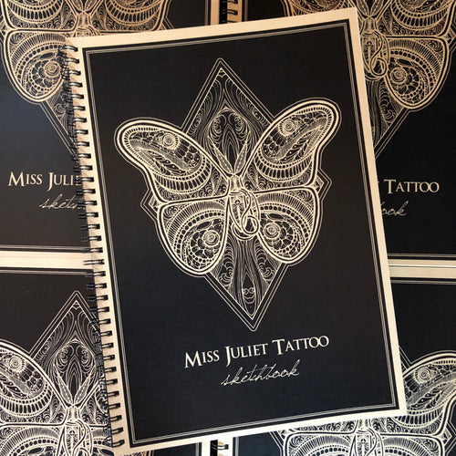 Miss Juliet Tattoo Sketchbook