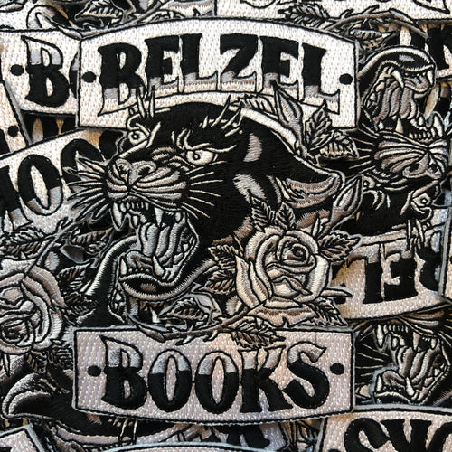 Belzel Books Panther Patch