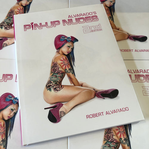 Alvarado's Pin-Up Nudes 2nd Edition