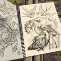 Darcy Nutt's Pencil Sketches & Line Art