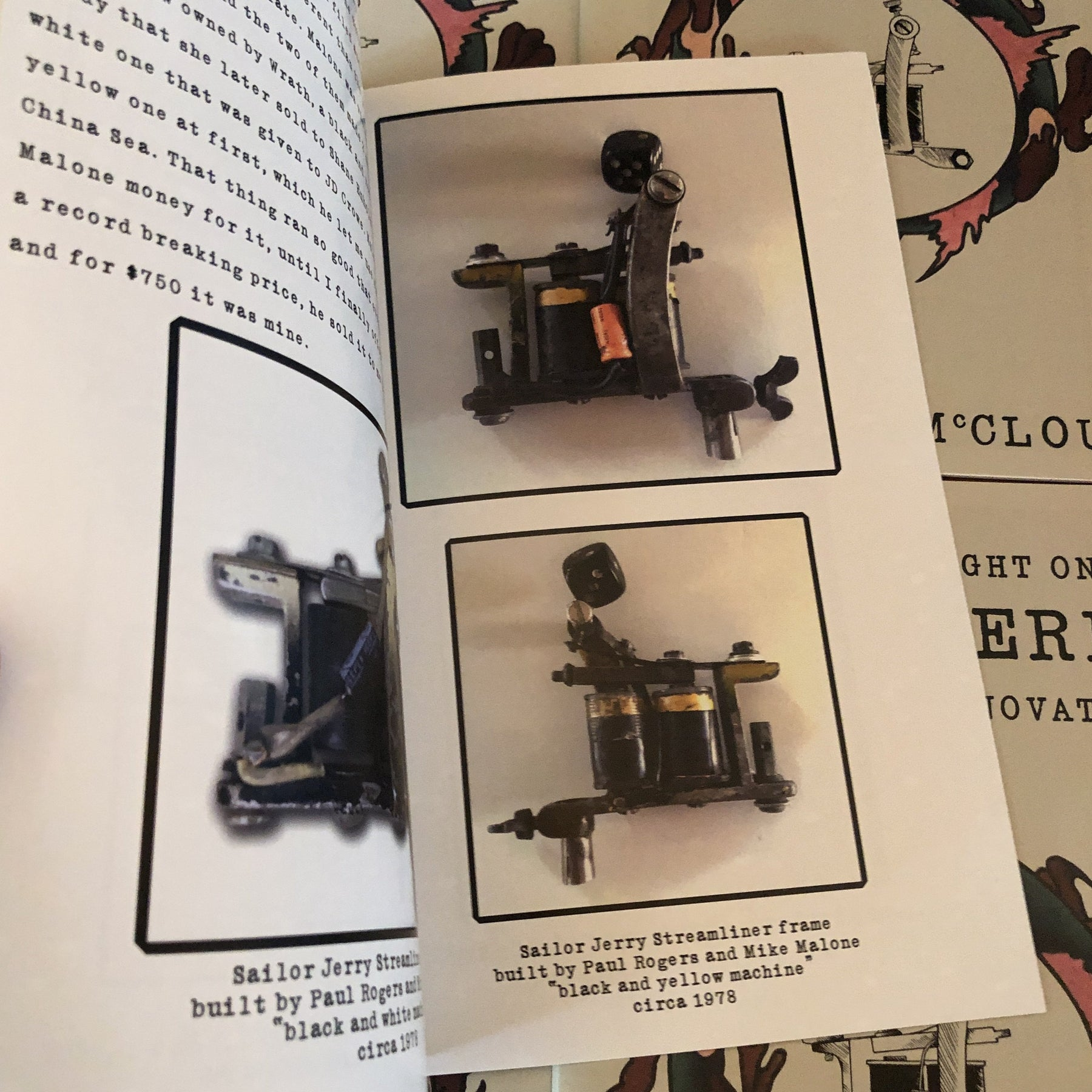 A Slice Of Insight On Sailor Jerry Tattoo Machine Innovations Belzel Books