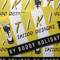 Buddy Holiday - Tiki Tattoo Designs